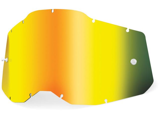 100% Anti-Fog Ersatzscheiben Gen2 gold/mirror